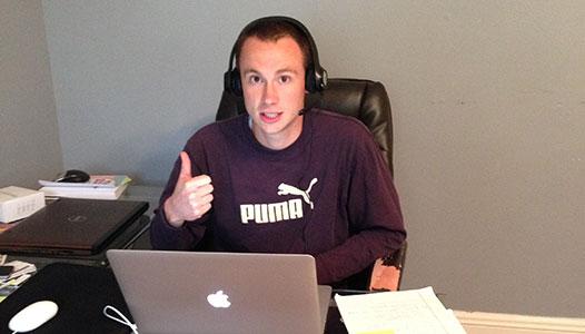 moveBuddha Founder Ryan Carrigan