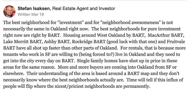 Oakland best neighborhood