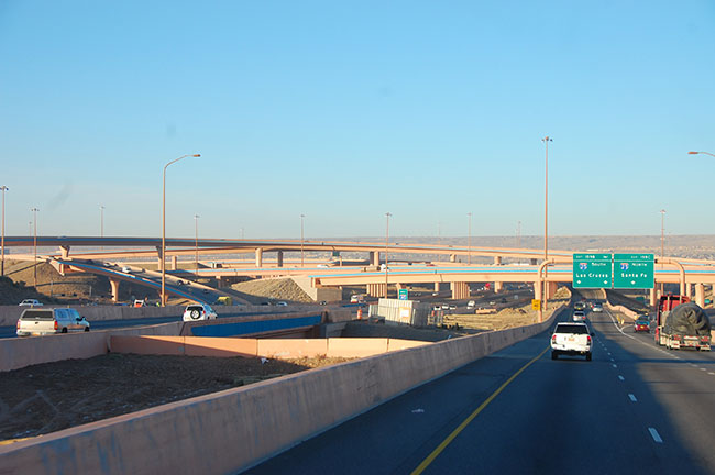 I-40, The Big I