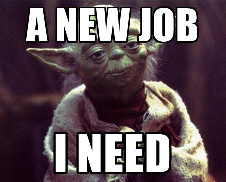 yoda new job meme