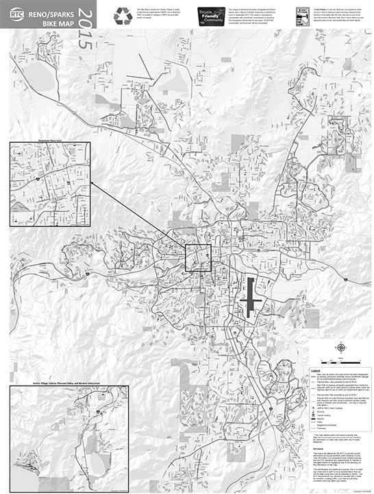 Bike Reno Map