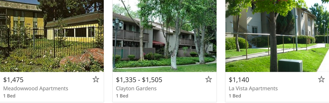Craigslist Apartments For Rent In Concord Ca