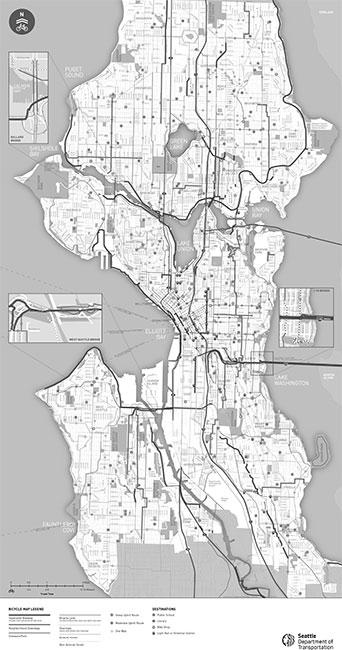 Seattle Bike Map