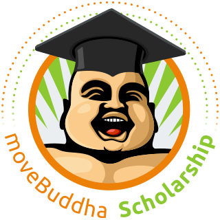 moveBuddha Scholarship Badge