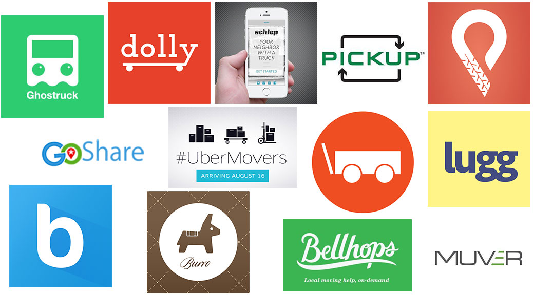 uber for moving company logos