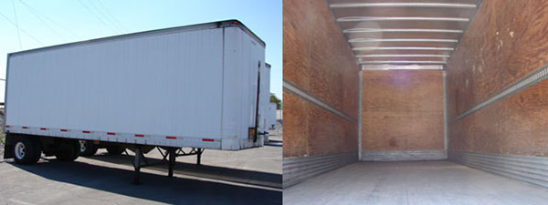 freight trailer for moving