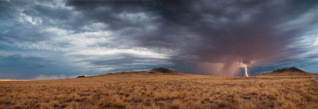 Volcanic Mesa Storm