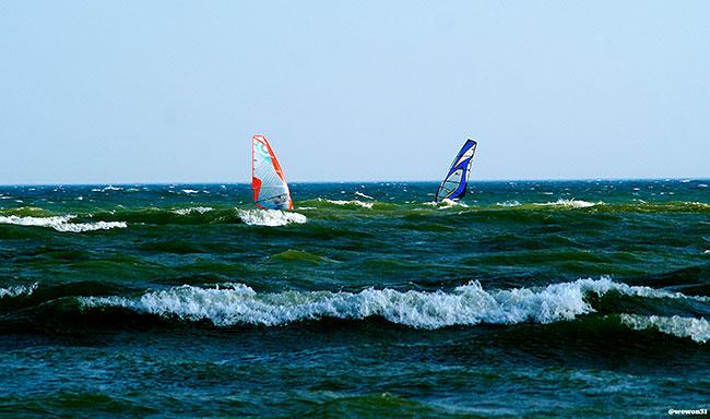 Milwaukee Lake Michigan Windsurfing