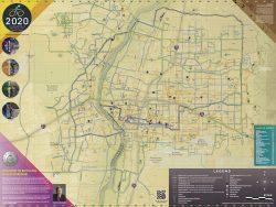 2020 Albuquerque bike map