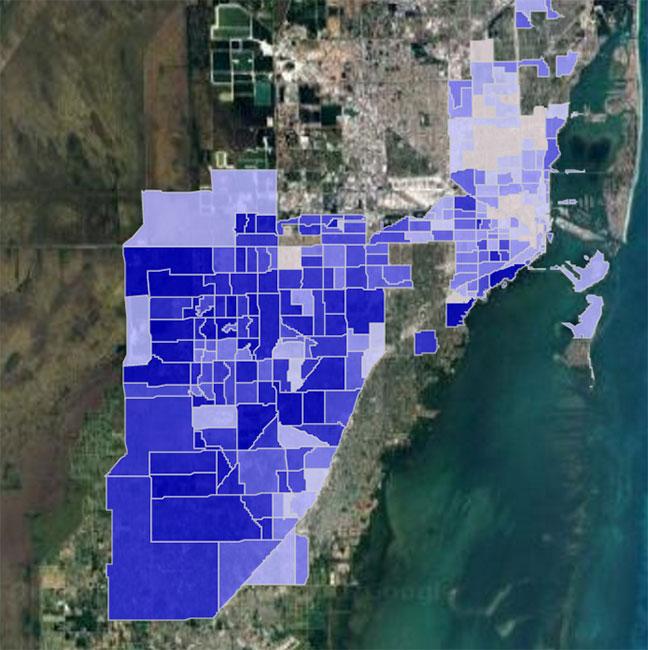 Miami, FL Crime Hotspot Map