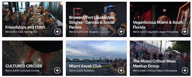 Miami, FL Meetups