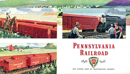 pennsylvania railroad flyer