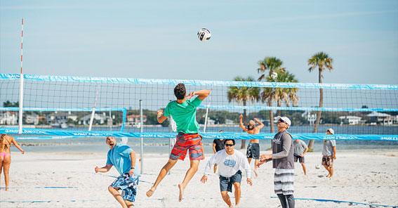 Tampe beach volleyball-Top Gun
