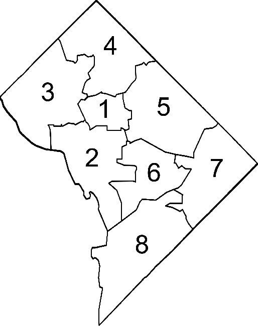 Washington DC Wards