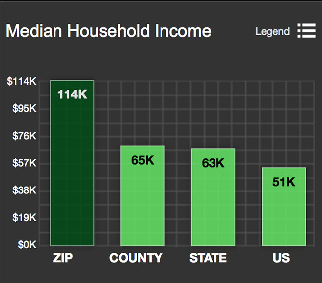 Georgetwon Median Household Income