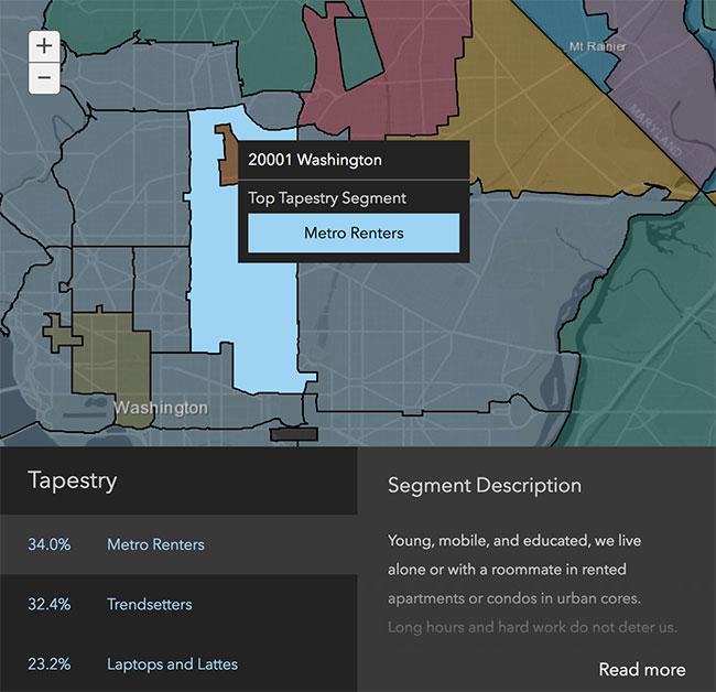 Washington DC Neighborhood Demographics