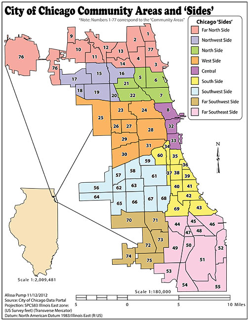Chicago Community Areas