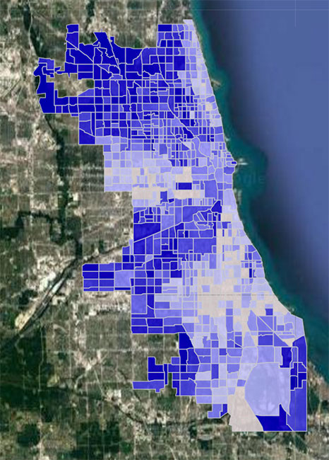 Chicago Crime Hotspot Map