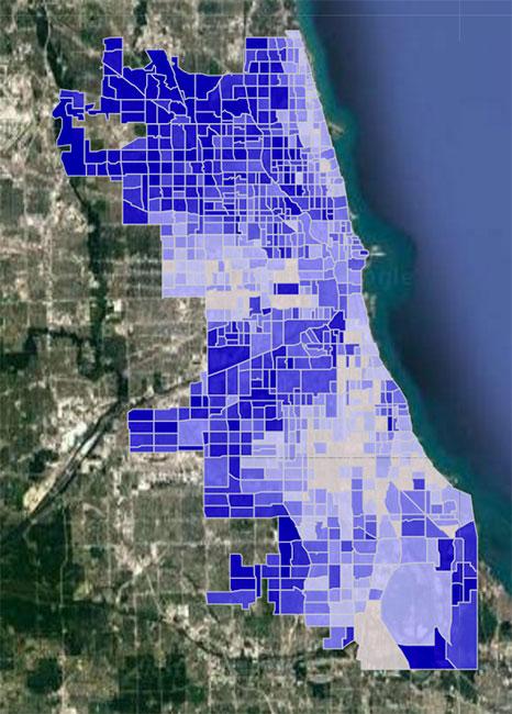 Chicago Crime Hotspot Map