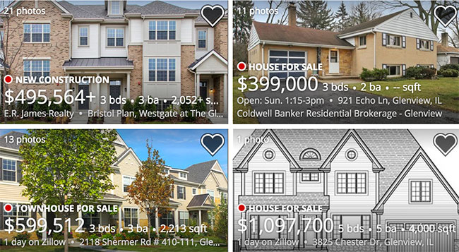 Glenview Home Listings by Zillow