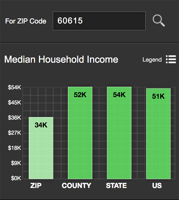 Hyde Park Median Income