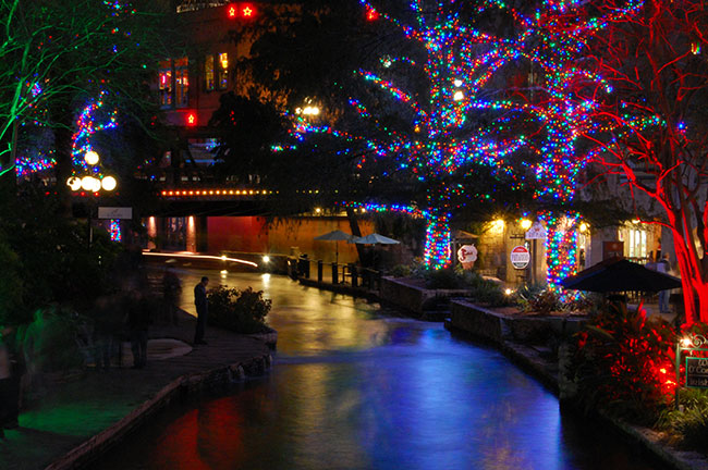San Antonio TX River Walk Nightlife