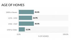 Age of Homes in Atlanta 2021