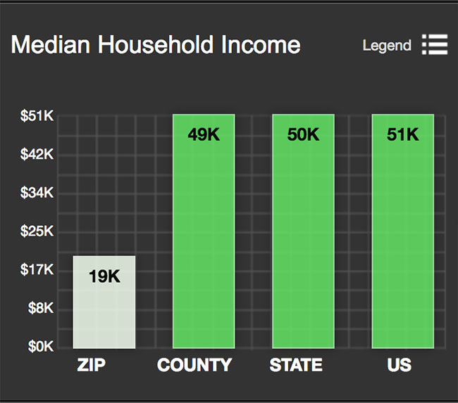 Southtown Median Household Income