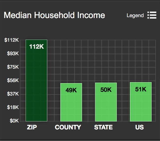 Stone Oak Median Household Income