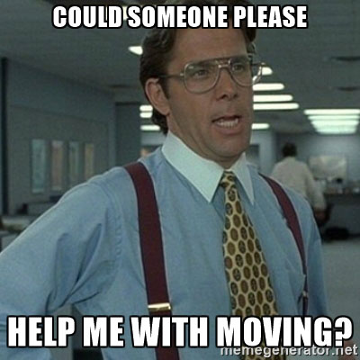 office space moving
