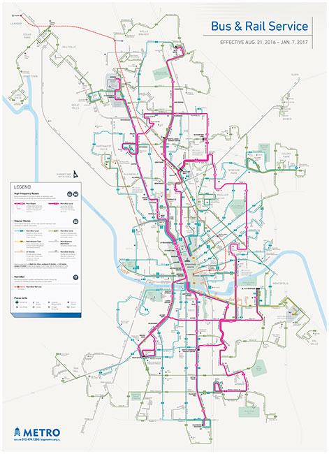 Austin Metro System Map