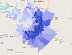 Austin TX Crime Map
