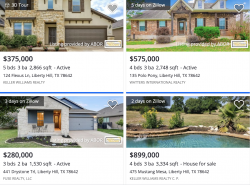Liberty Hill Zillow 2021