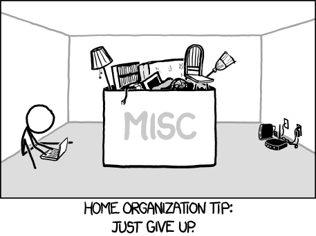 home-organization xkcd