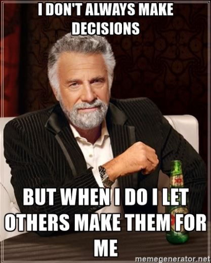 social pressure decisions