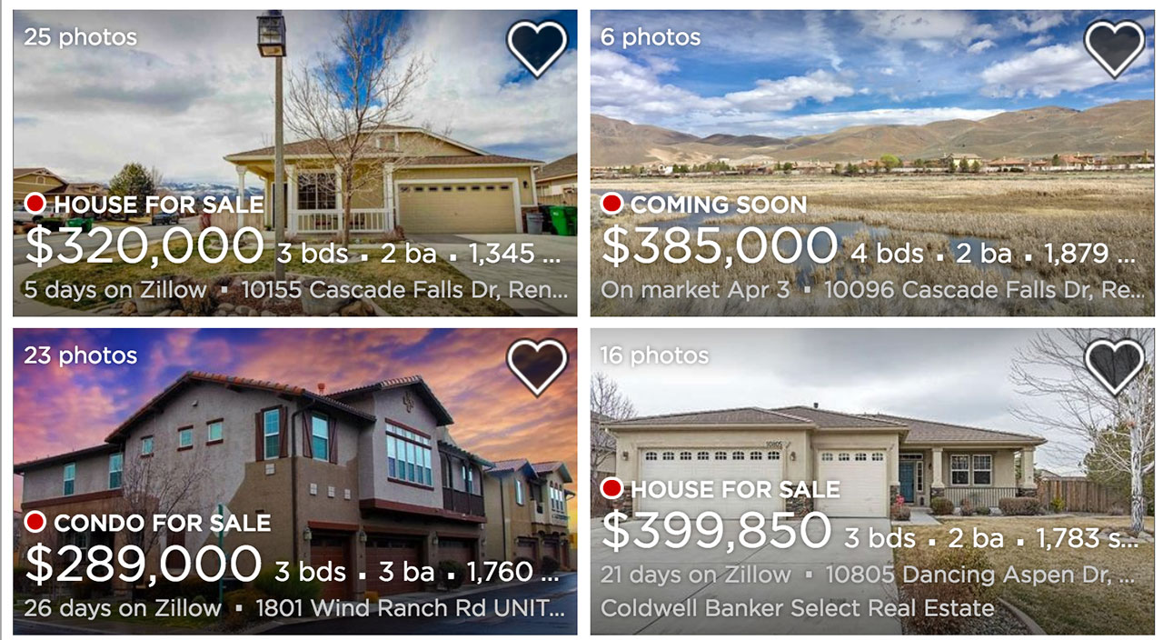 Damonte Ranch Homes