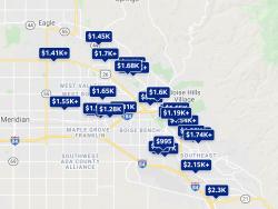 Boise ID Trulia Listing Prices 2021
