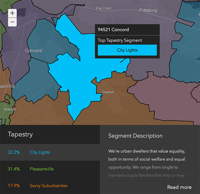 Concord Neighborhood Demographics