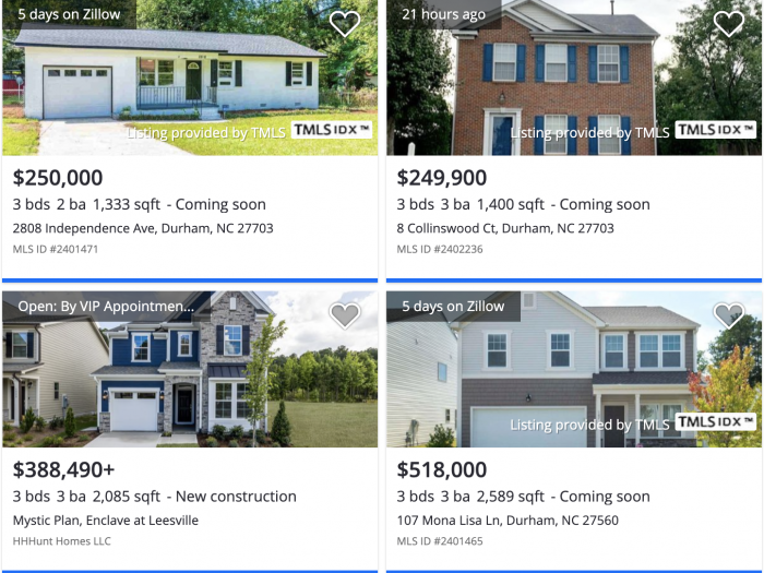 Durham NC Brier Creek Zillow Home Prices