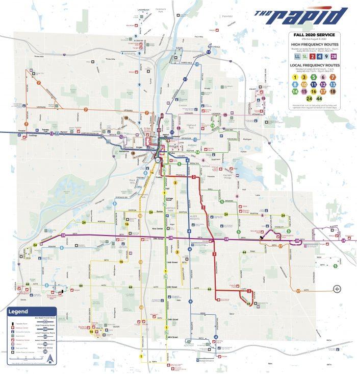 Grand Rapids MI The Rapid Map 2021