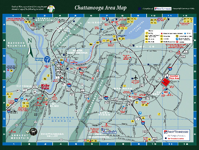 Chattanooga Neighborhood Map
