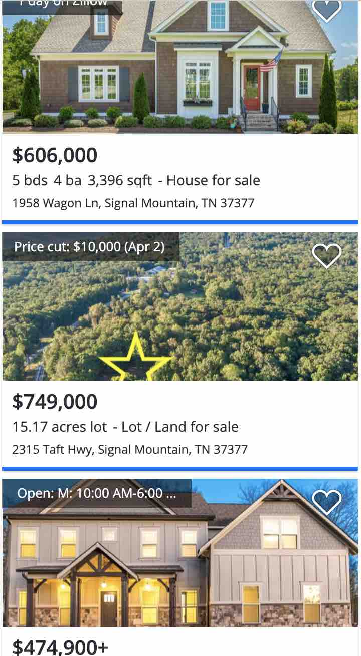 signal mountain real estate chattanooga