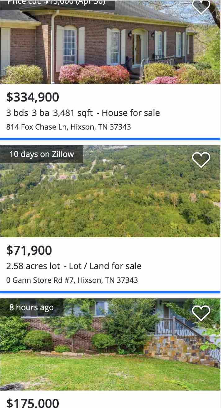 hixson chattanooga real estate