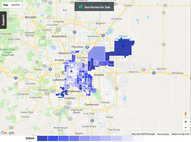 Denver Crime Map