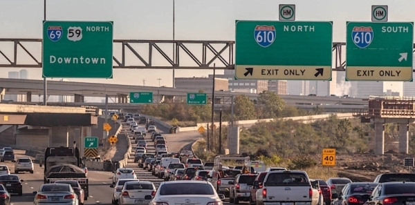 Houston TX 610 The Loop 2021