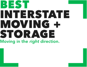 Best Interstate Moving & Storage Logo