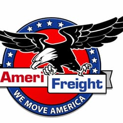 AmeriFreight Car Transport Logo