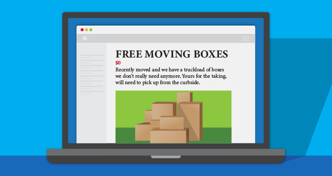 Try to Score Free Moving Supplies