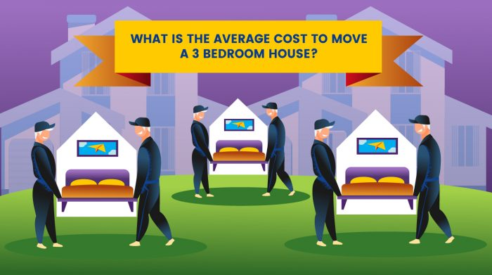 Average Cost To Move A 4 Bedroom House Movebuddha