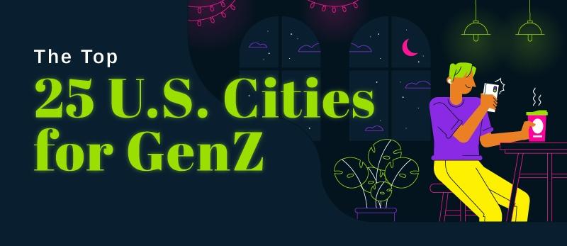 best cities for gen z